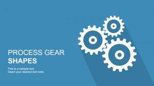 creative powerpoint templates process gears