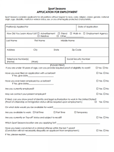 credit application form pdf sport seasons job application form