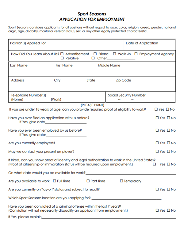 credit application form pdf