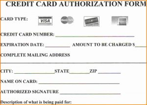 credit card authorization form pdf credit card authorization form template word credit card form for web