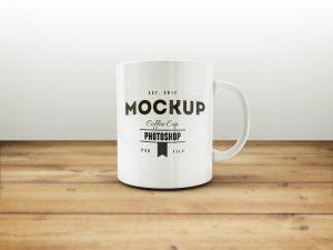 credit card design template coffee mug free mockup