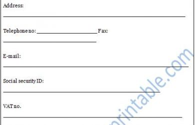 credit reference form credit reference form