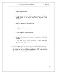 credit report sample projectreportonprojectfinancing