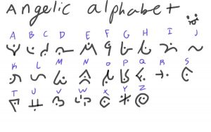 cursive font download angelic alphabet by linkavar dnmla