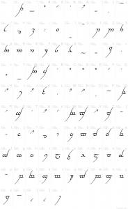 cursive font download mp tengwar annatar italic
