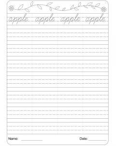 cursive writing worksheets pdf a