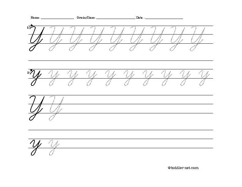 cursive writing worksheets pdf
