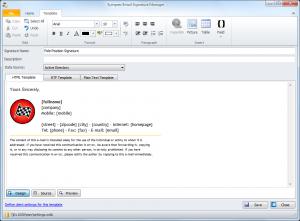 custom e mail signatures email signature manager