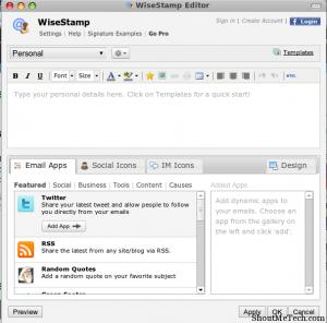 custom e mail signatures wisestamp email signatures