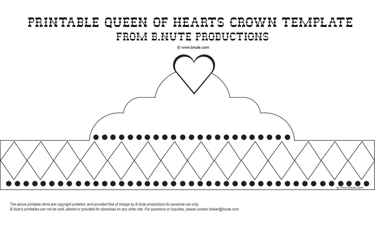 cut out crown