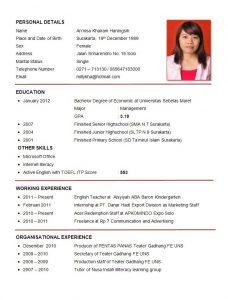 cv format template curriculum vitae english simple free resume samples writing english resume template