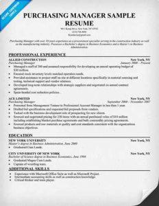 cv template latex procurement resume