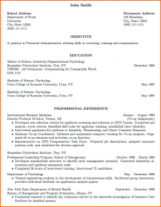 cv template latex professional curriculum vitae format sample cv