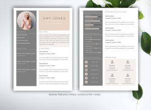 cv template latex resume template for ms word