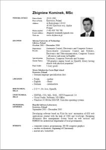 cv template pdf cv in english word template resume samples find different english resume template