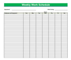 daily agenda template blank daily schedule template x