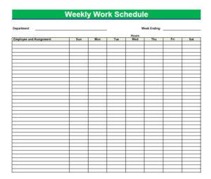 Daily Agenda Template  Blank Agenda Form