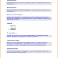 daily agenda template product description template