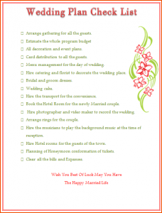 daily checklist template wedding planning template wedding planning checklist template