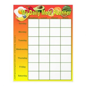 daily meal plan template my daily meal planner page inserts custom flyer rbcabbfcedd vgvyf byvr