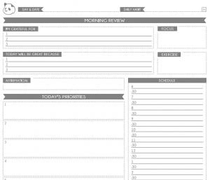 daily planner printable pdf pandaplannerscreenshot