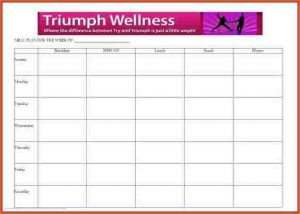 daily planner templates daily meal plan template meal planner screen shot