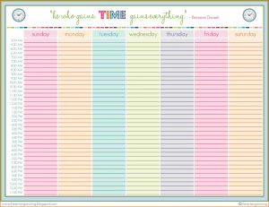daily schedule template family daily schedule template weeklyroutineprintable