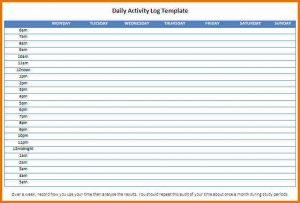 daily work log template daily activity log template daily activity log template