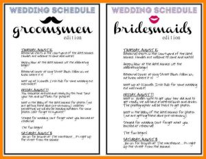 day of wedding checklist wedding day timeline template free