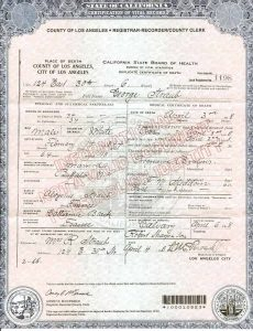 death certificates templates dc straubgeorge