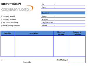 delivery receipt template delivery receipt template excel delivery receipt templete word e bhmbit