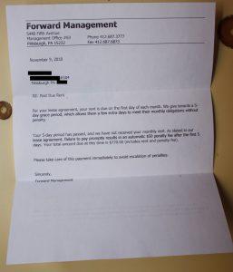 demand letter for money owed pastdue