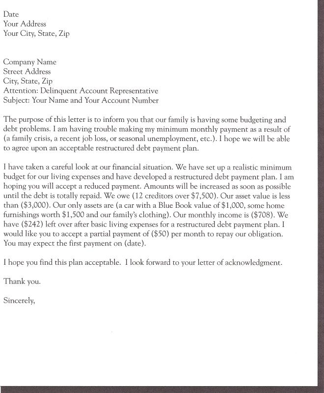 Demand Letter For Money Owed  Template Business