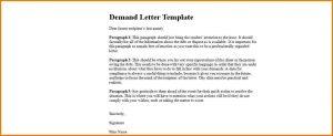 demand letter template formal demand letter template demand letter template