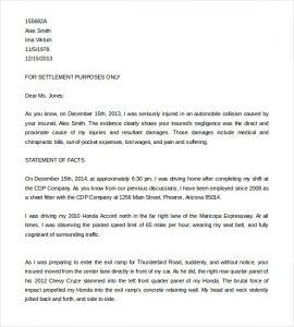 demand letter template insurance demand letter template for car accident