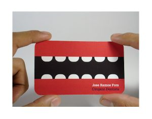 dental business cards business card