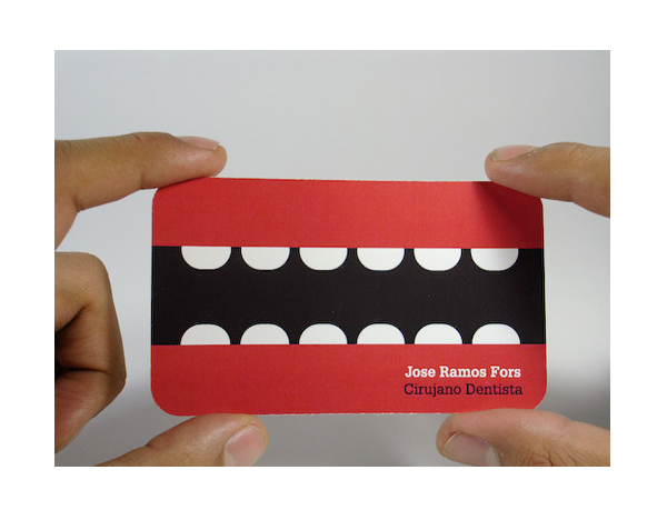 dental business cards
