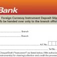 deposit slips example indemnity form