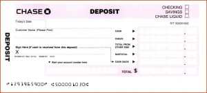 deposit slips template deposit slip template chase deposit slip