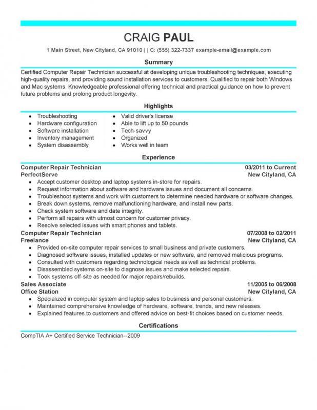 diesel mechanic resume