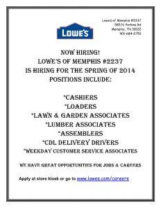 diesel mechanic resume lowes hiring flyer