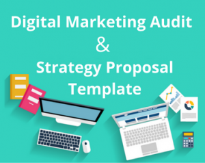 digital marketing strategy template digital marketing audit and strategy proposal template
