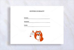 dinner invitation template cute dinner invitation template