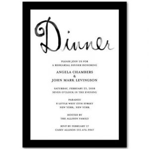 dinner invitation template invitation templates rehearsal dinner qzfvspm