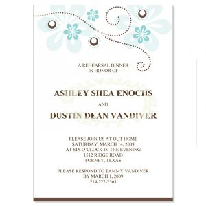 dinner invitation template rehearsal dinner invitations templates