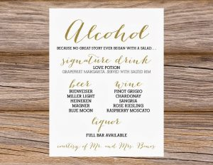 dinner party menu template publication