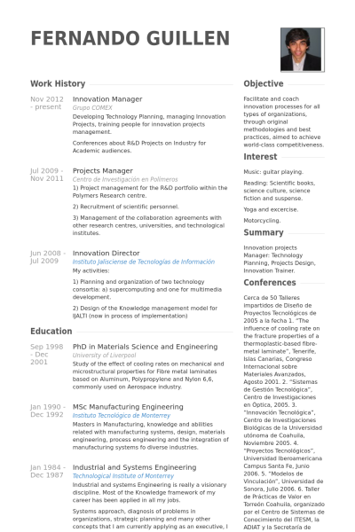 director of operations resume