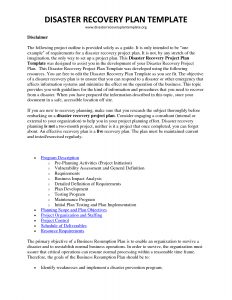 disaster recovery plan example disaster recovery plan template ljhvdto