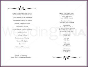 disciplinary action forms examples of wedding programs page