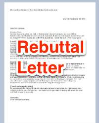disciplinary write up form rebuttal letter journal submission